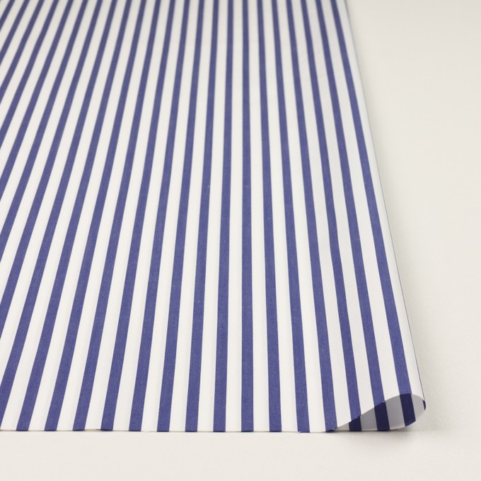 コットン×ストライプ(ブルー)×ブロード_全2色 イメージ3
