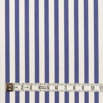 コットン×ストライプ(ブルー)×ブロード_全2色 サムネイル4