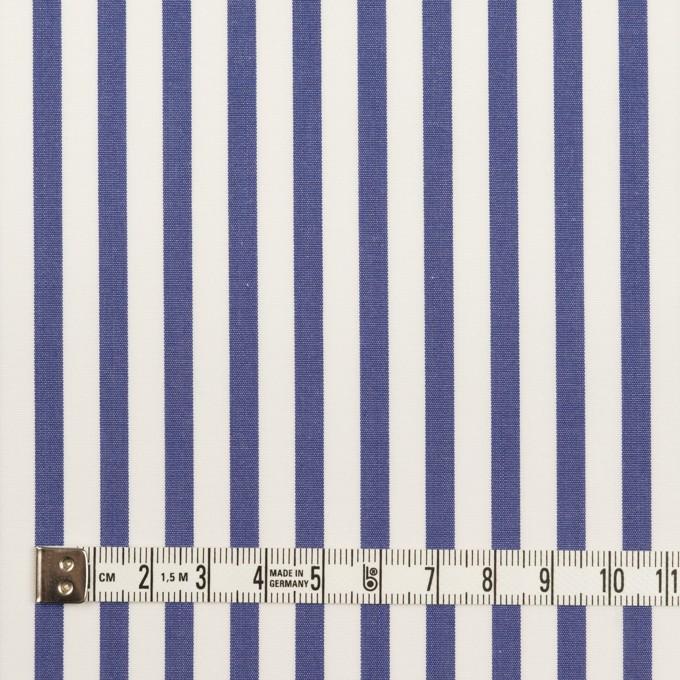 コットン×ストライプ(ブルー)×ブロード_全2色 イメージ4