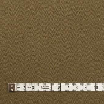 コットン×無地(カーキ)×ヘリンボーン サムネイル4
