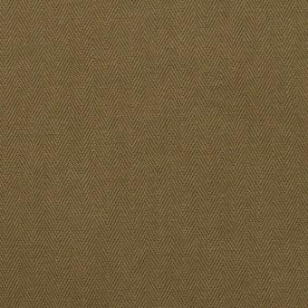 コットン×無地(カーキ)×ヘリンボーン サムネイル1