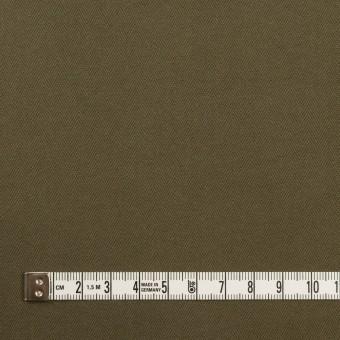 コットン×無地(ダークカーキ)×ヘリンボーン サムネイル4