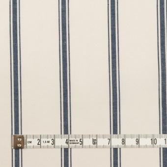 コットン×ストライプ(バニラ&ネイビー)×ブロード サムネイル4