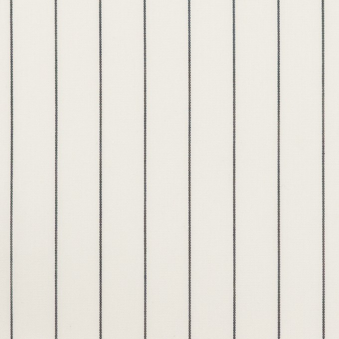 コットン×ストライプ(ホワイト)×ローン イメージ1