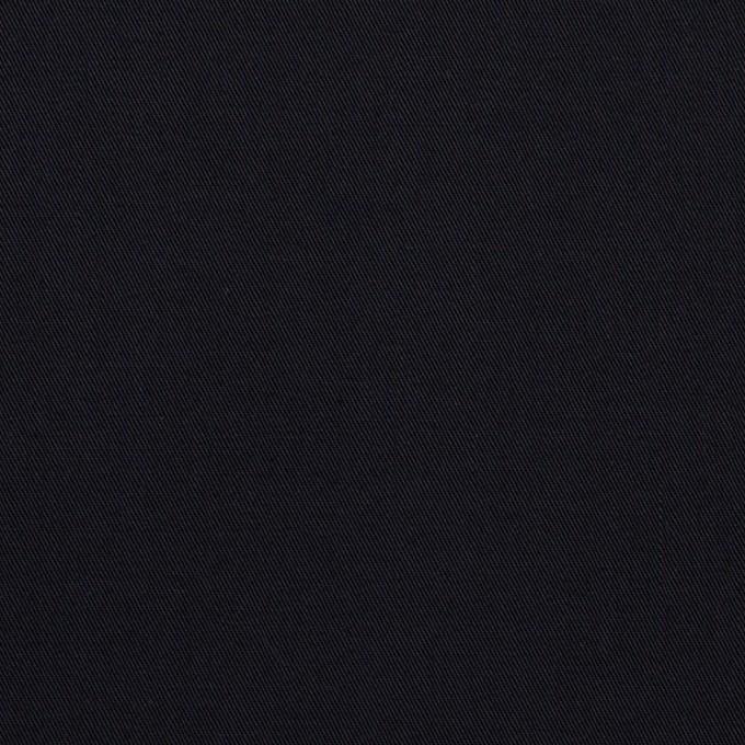 コットン×無地(ダークネイビー)×サージ_イタリア製 イメージ1