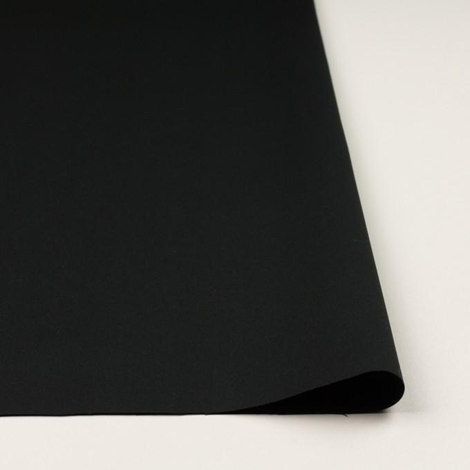 コットン×無地(チャコールブラック)×ギャバジン イメージ3