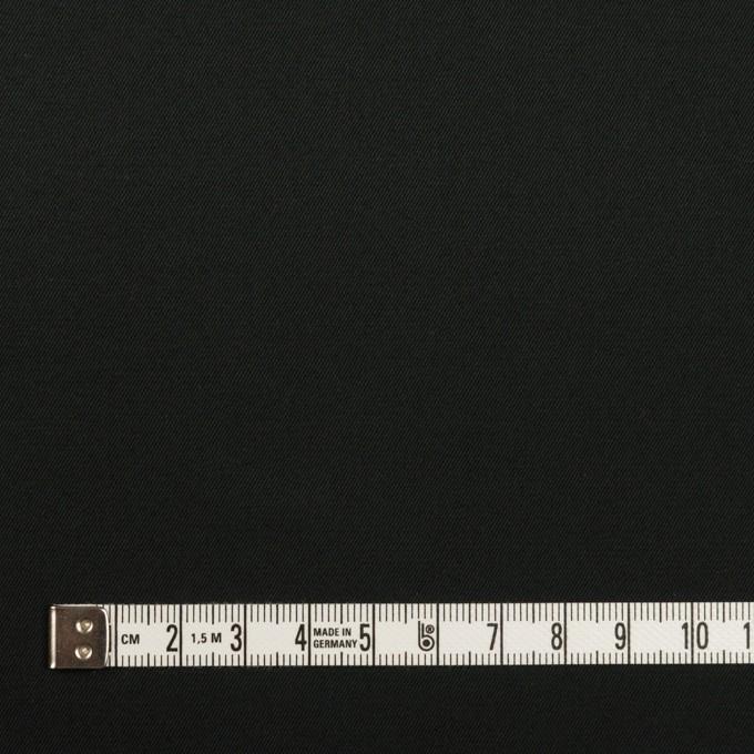 コットン×無地(チャコールブラック)×ギャバジン イメージ4