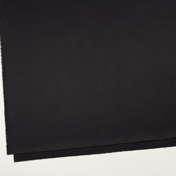 コットン&ポリエステル×無地(ブラック)×チノクロス イメージ2