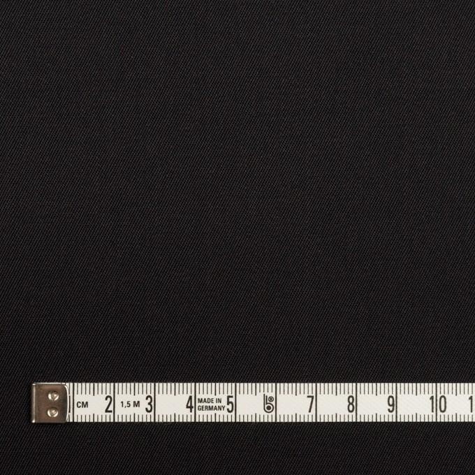 コットン&ポリエステル×無地(ブラック)×チノクロス イメージ4