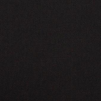 コットン&ポリエステル×無地(ブラック)×チノクロス