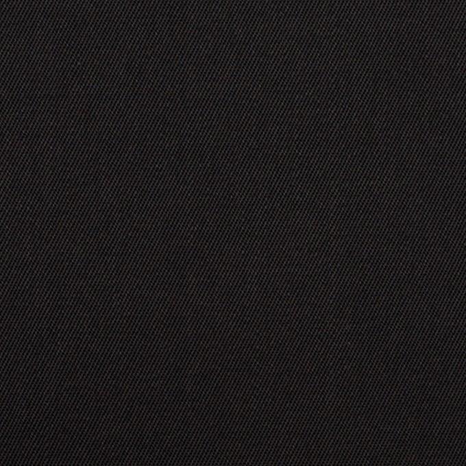 コットン&ポリエステル×無地(ブラック)×チノクロス イメージ1