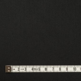 コットン&ポリエステル×無地(ブラック)×サテンストレッチ サムネイル4
