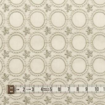 コットン×フラワー(グリーンミスト)×ボイル刺繍 サムネイル4