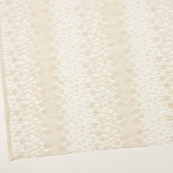 ナイロン×フラワー(エクリュ)×オーガンジー刺繍 サムネイル2