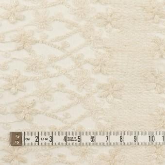 ナイロン×フラワー(エクリュ)×オーガンジー刺繍 サムネイル4