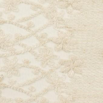 ナイロン×フラワー(エクリュ)×オーガンジー刺繍 サムネイル1