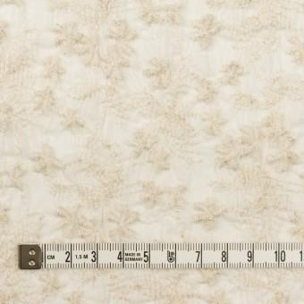 コットン×フラワー(エクリュ)×ボイルシャーリング刺繍 サムネイル4