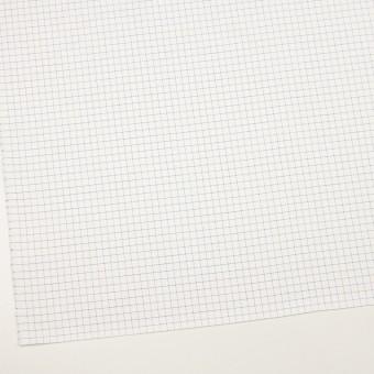 コットン×チェック(ラベンダーブルー)×サージ_全2色 サムネイル2