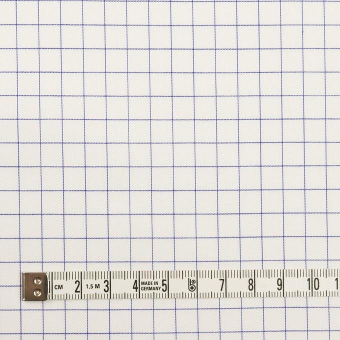 コットン×チェック(ラベンダーブルー)×サージ_全2色 イメージ4