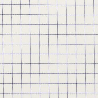 コットン×チェック(ラベンダーブルー)×サージ_全2色
