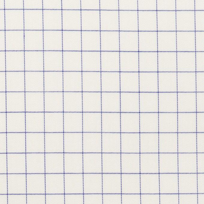コットン×チェック(ラベンダーブルー)×サージ_全2色 イメージ1
