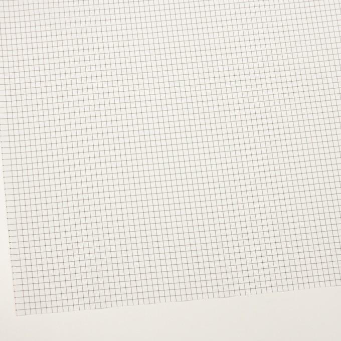 コットン&ポリエステル×チェック(チャコール)×ブロード イメージ2