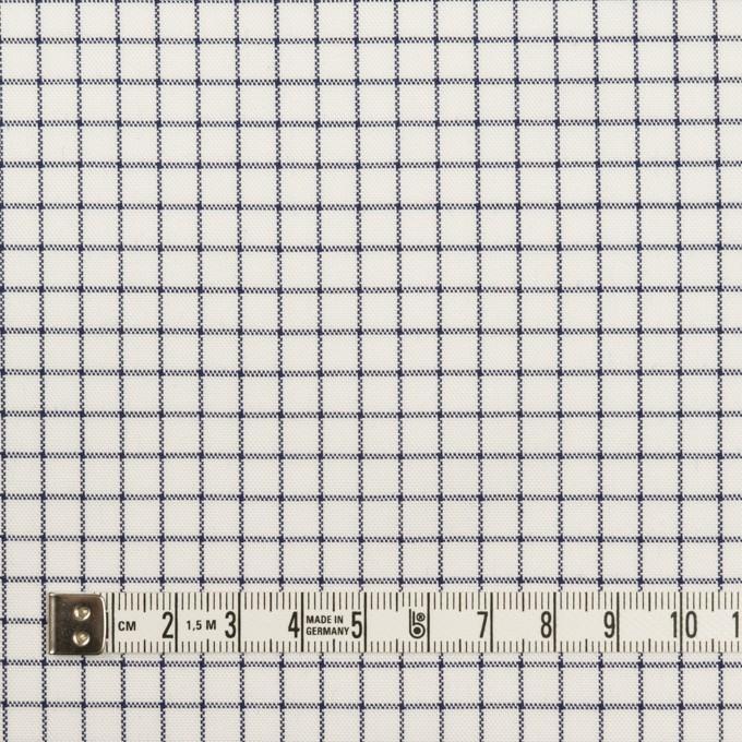 コットン×チェック(ネイビー)×オックスフォード イメージ4
