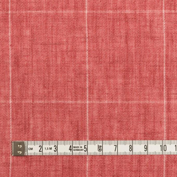 リネン×チェック(ローズ)×ガーゼ_全2色_イタリア製 イメージ4