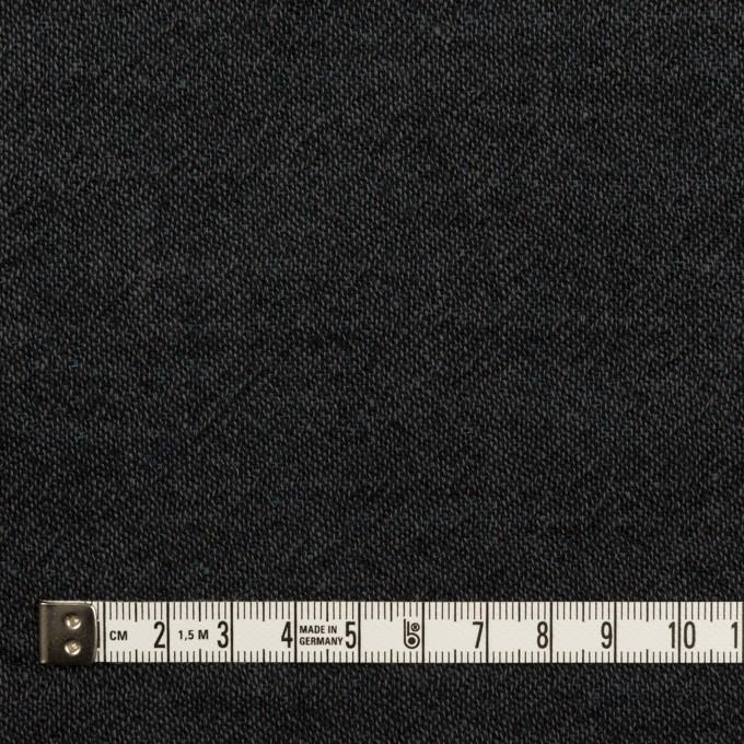 コットン×無地(チャコール)×Wガーゼ イメージ4