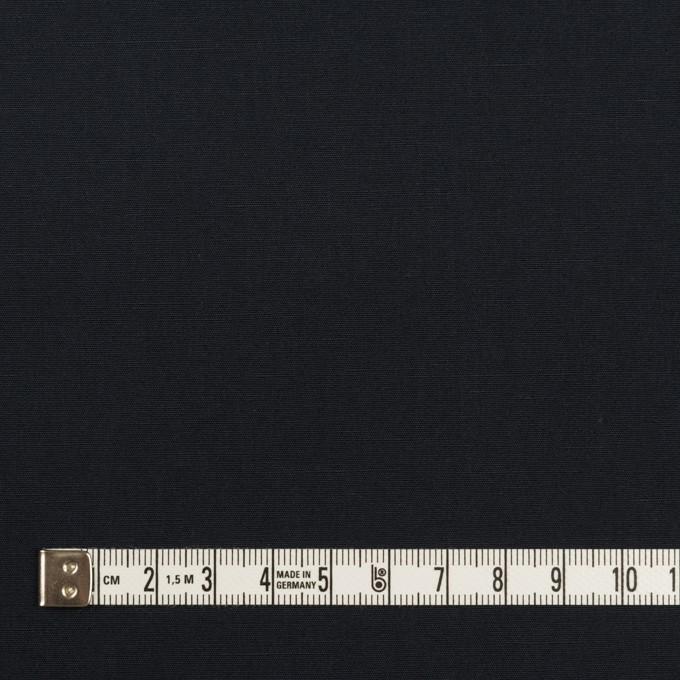 コットン&リネン×無地(ダークネイビー)×ポプリン イメージ4