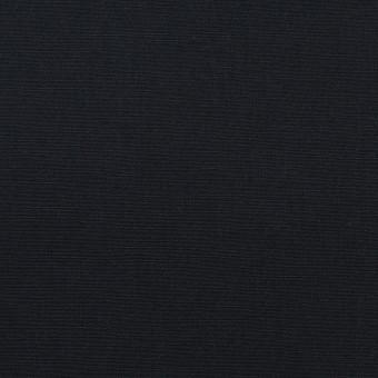 コットン&リネン×無地(ダークネイビー)×ポプリン