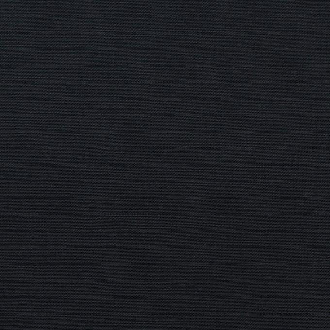 コットン&リネン×無地(ダークネイビー)×ポプリン イメージ1