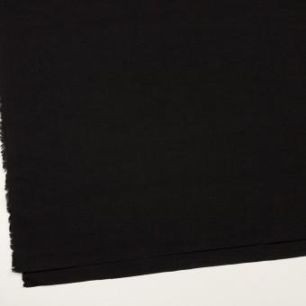 リネン&ナイロン×無地(ブラック)×キャンバス サムネイル2
