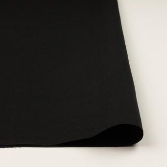 リネン&ナイロン×無地(ブラック)×キャンバス サムネイル3