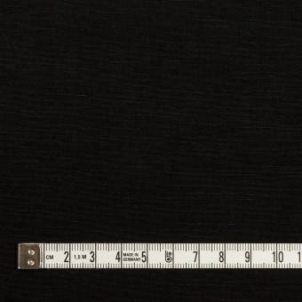 リネン&ナイロン×無地(ブラック)×キャンバス サムネイル4