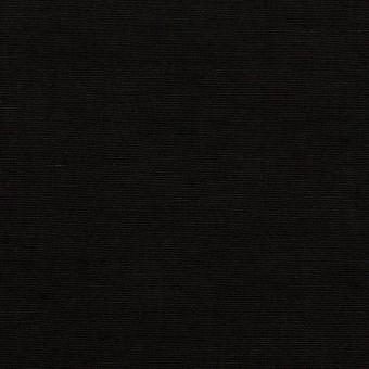 リネン&ナイロン×無地(ブラック)×キャンバス