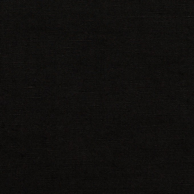 リネン&ナイロン×無地(ブラック)×キャンバス イメージ1