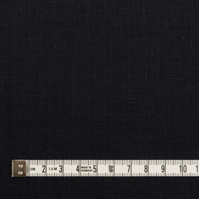 リネン×無地(ダークネイビー)×薄キャンバス_全2色 イメージ4