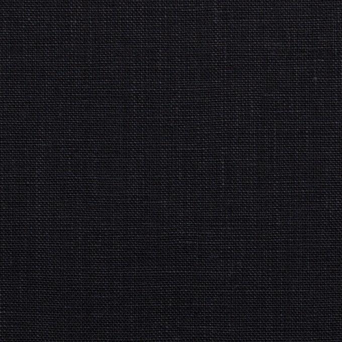 リネン×無地(ダークネイビー)×薄キャンバス_全2色 イメージ1