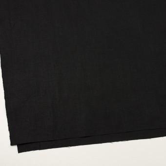 リネン×無地(ブラック)×薄キャンバス_全2色 サムネイル2