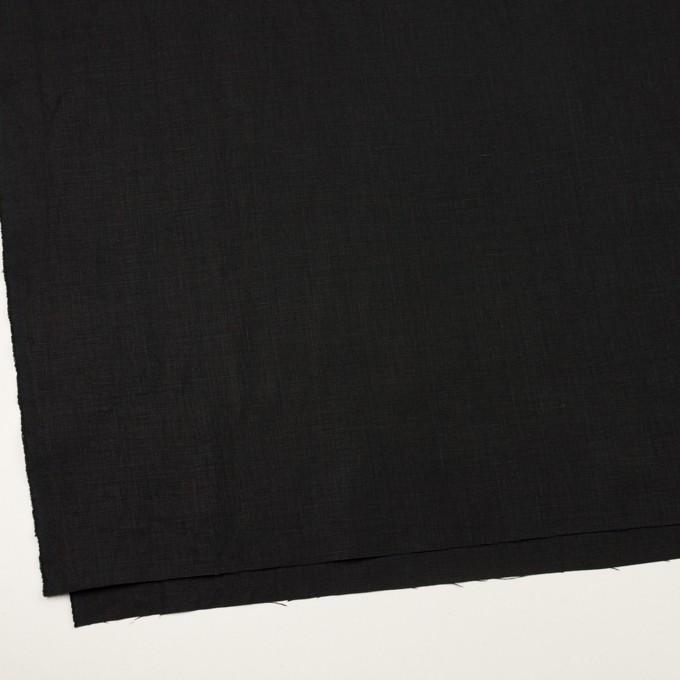 リネン×無地(ブラック)×薄キャンバス_全2色 イメージ2