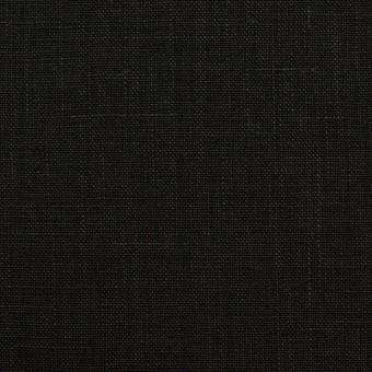 リネン×無地(ブラック)×薄キャンバス_全2色 サムネイル1
