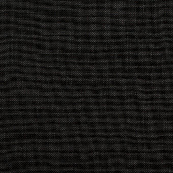 リネン×無地(ブラック)×薄キャンバス_全2色 イメージ1