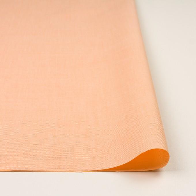 コットン×無地(オレンジ)×オックスフォード イメージ3