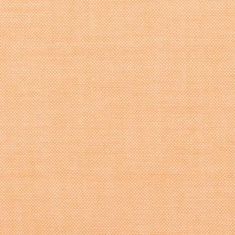 コットン×無地(オレンジ)×オックスフォード