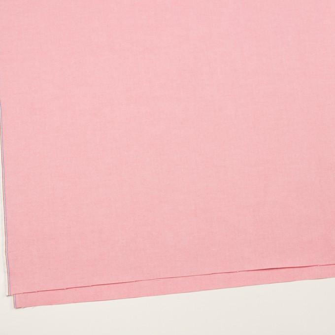 コットン×無地(ピンク)×セルビッチ・オックスフォード イメージ2