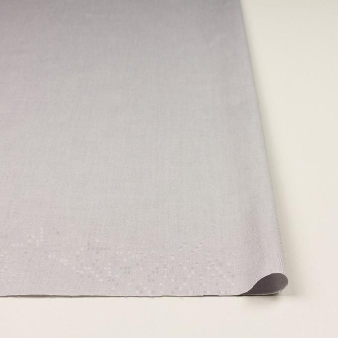 コットン×無地(アッシュグレー)×薄オックスフォード イメージ3