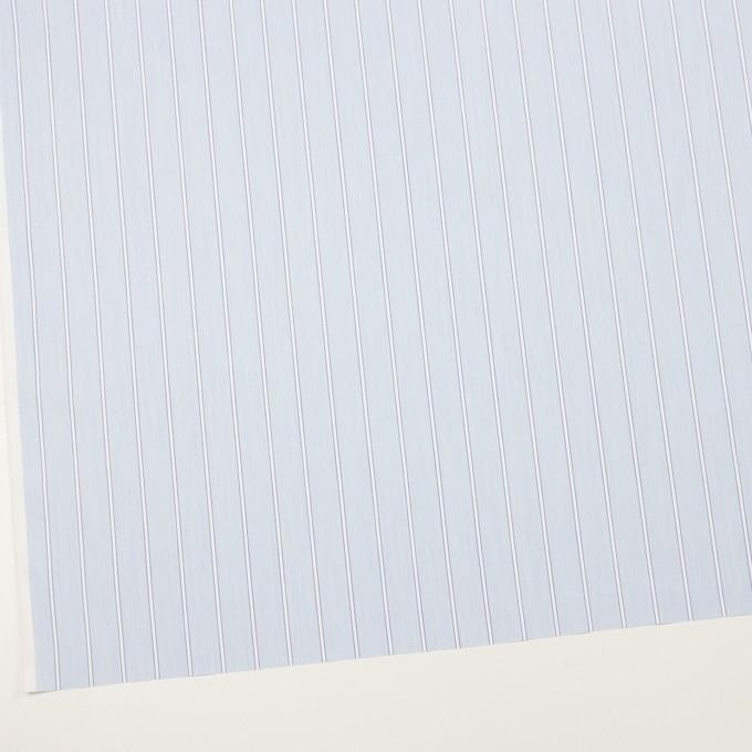 コットン&ポリエステル×ストライプ(サックス)×ローン イメージ2