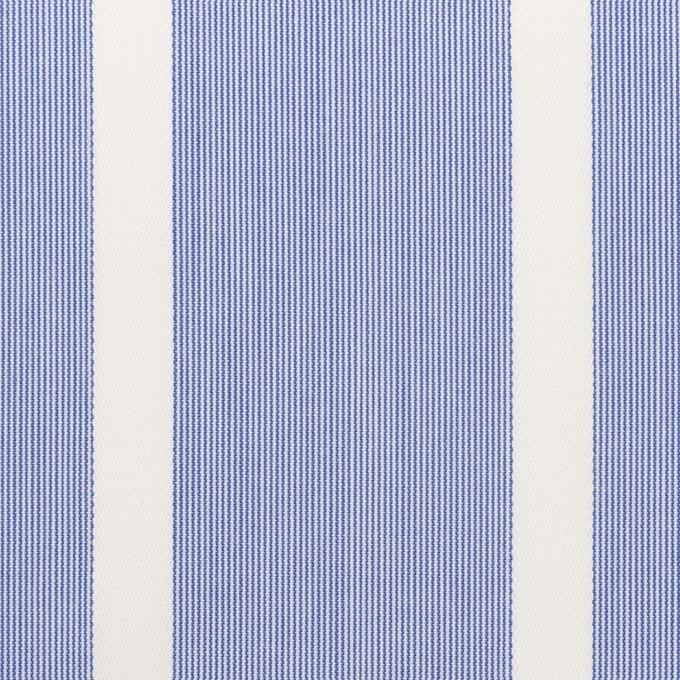 コットン×ストライプ(ブルー)×ブロードジャガード イメージ1