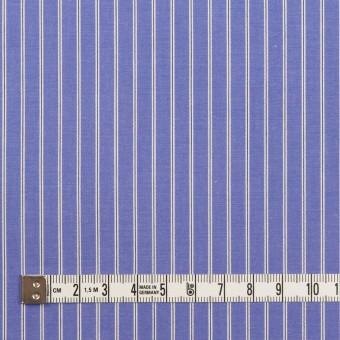 コットン×ストライプ(ラベンダーブルー)×ローン サムネイル4